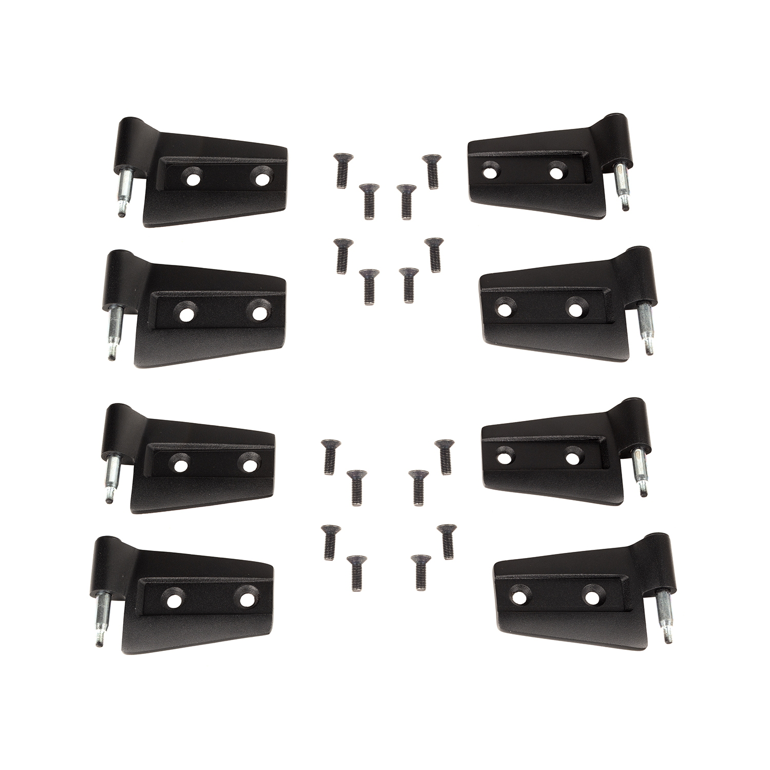 Rugged Ridge Door Hinge Kit - 8 Piece - JK 4dr