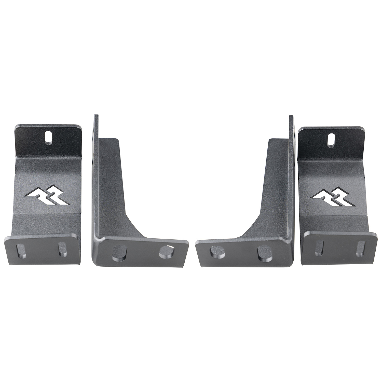 Rugged Ridge Rear LED Cube Mounts - Pair  - JL