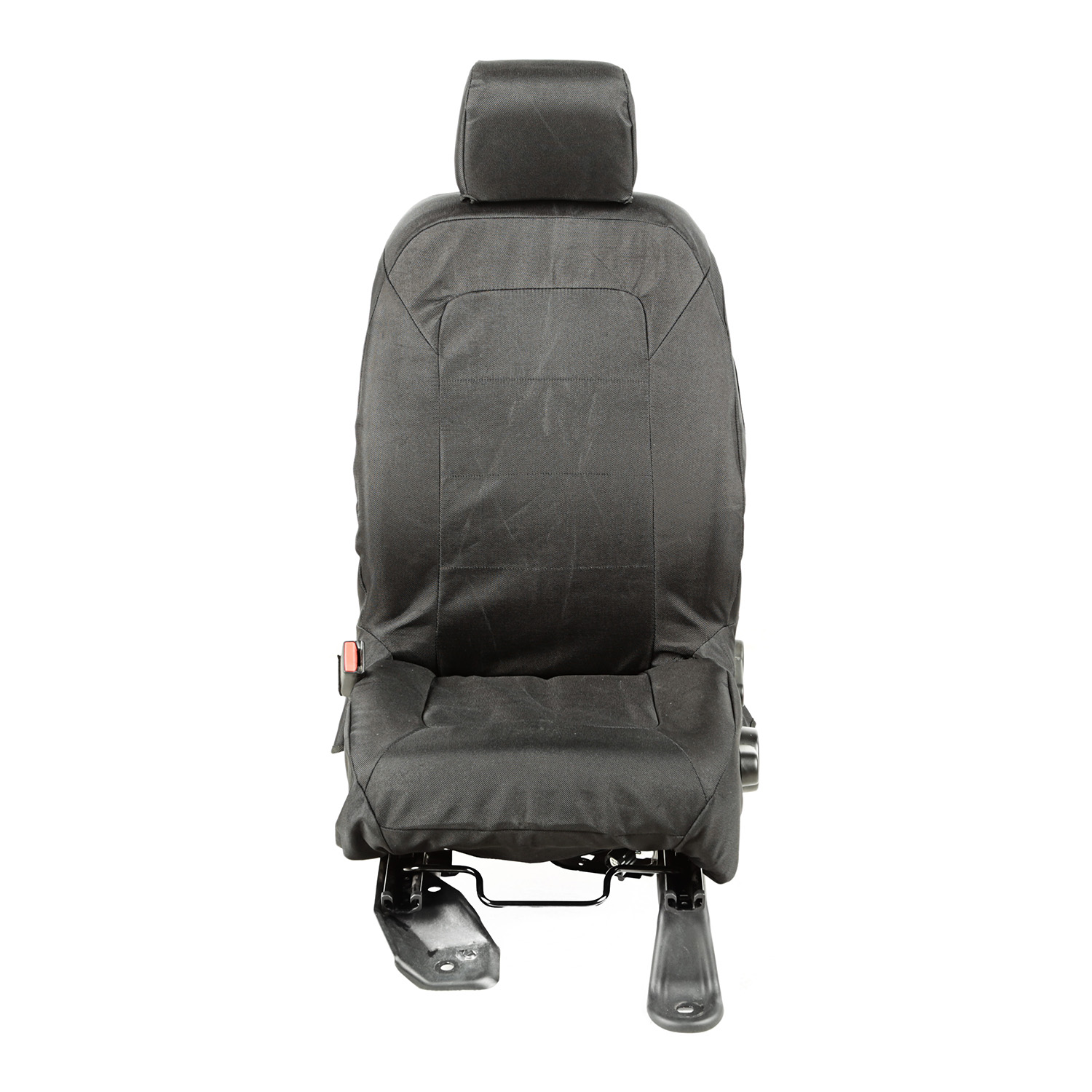 Rugged Ridge E-Ballistic Front Seat Cover Set, Black - JK 2011-16