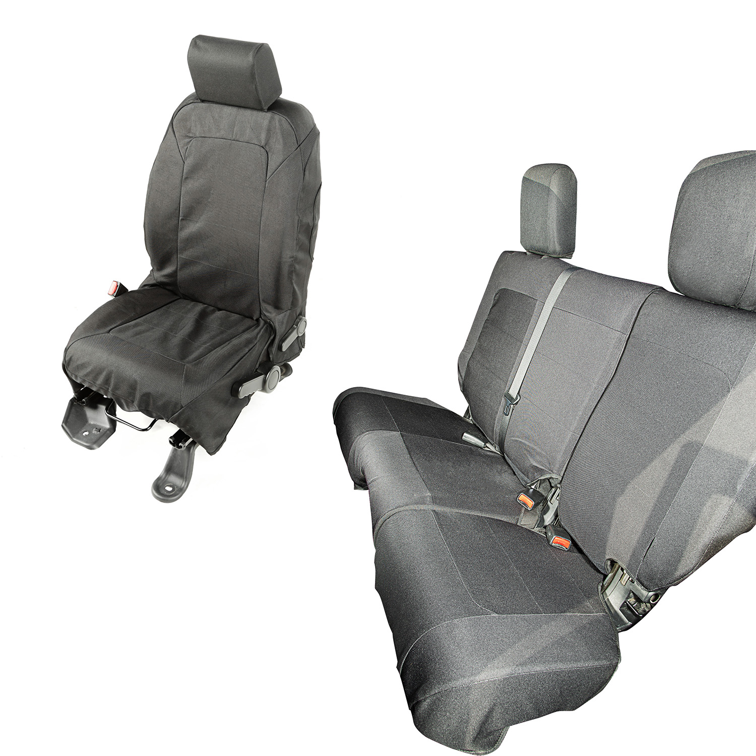 Rugged Ridge Elite Ballistic Seat Cover Set - JK 4DR