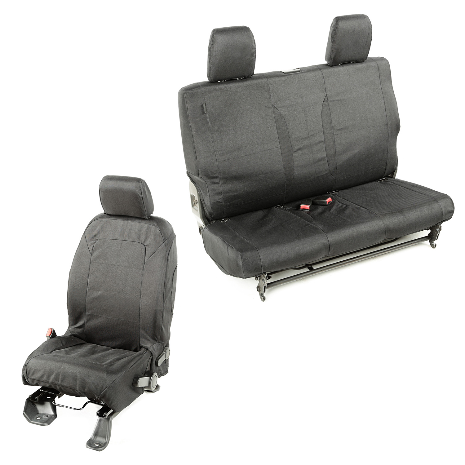 Rugged Ridge Elite Ballistic Seat Cover Set - JK 2DR