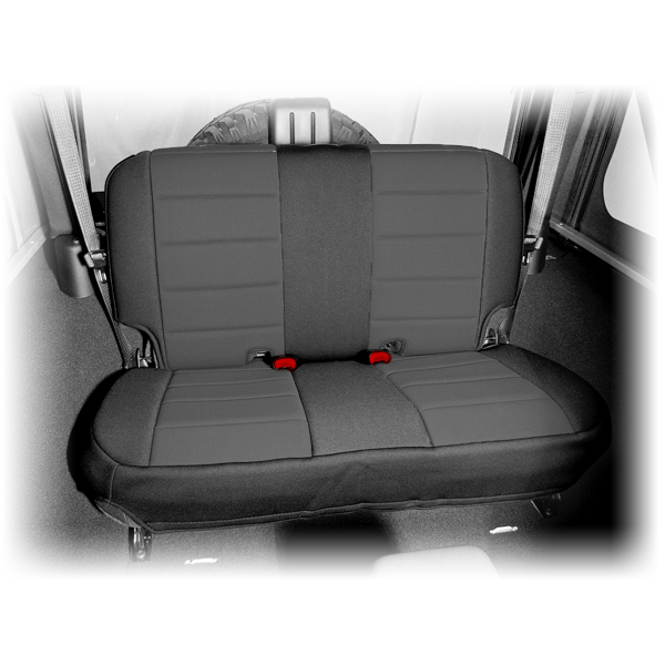 Rugged Ridge Rear Seat Cover Black/Black - JK
