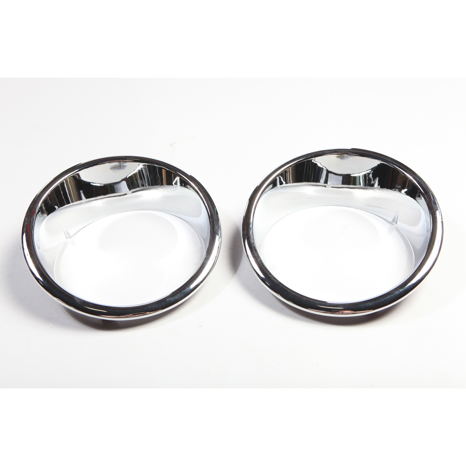 Rugged Ridge Chrome Headlight Bezel Set - JK