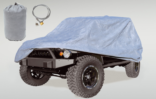 Rugged Ridge Three Layer Full Car Cover - JK4dr/LJ