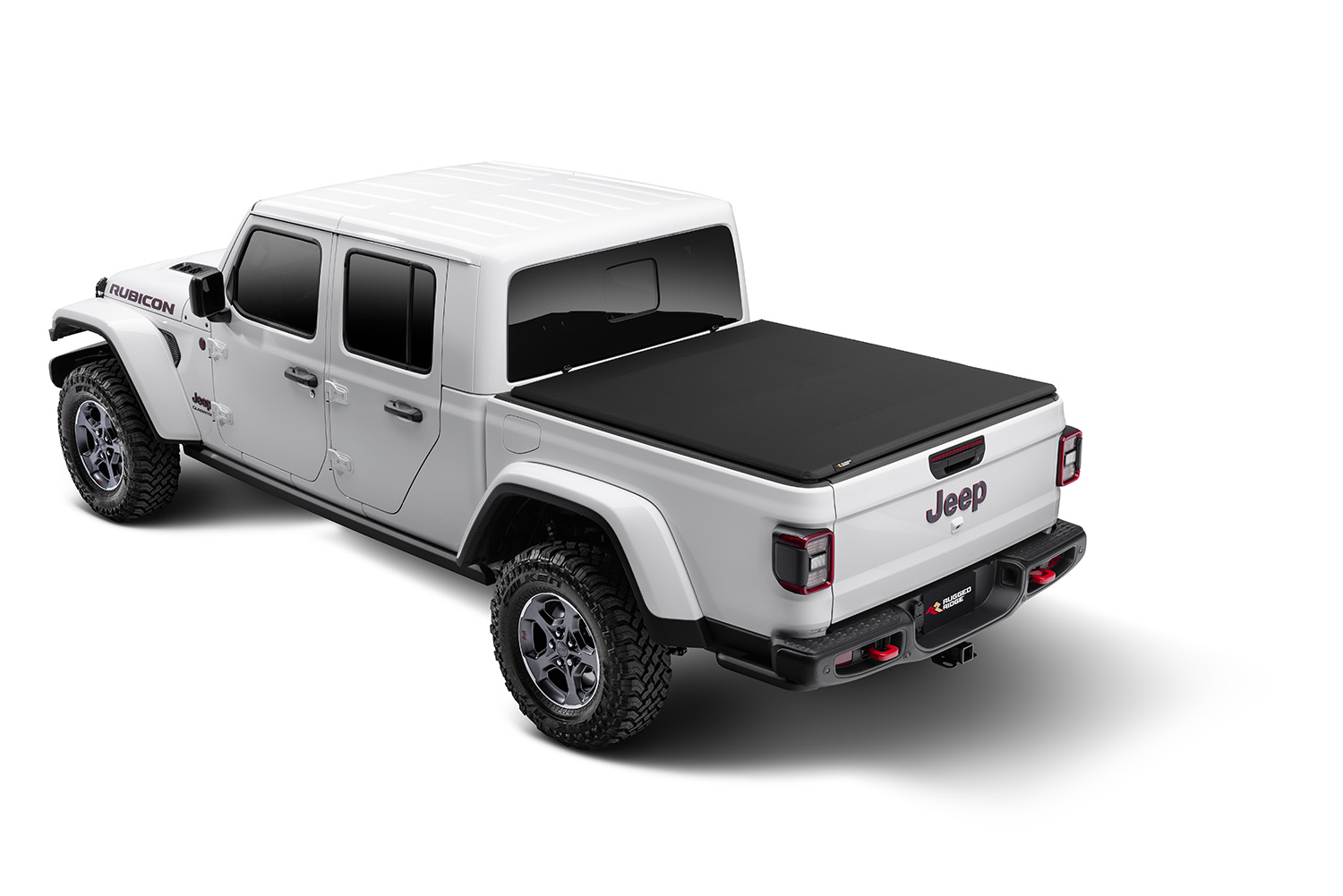 Rugged Ridge Armis Soft Folding Tonneau Bed Cover  - JT