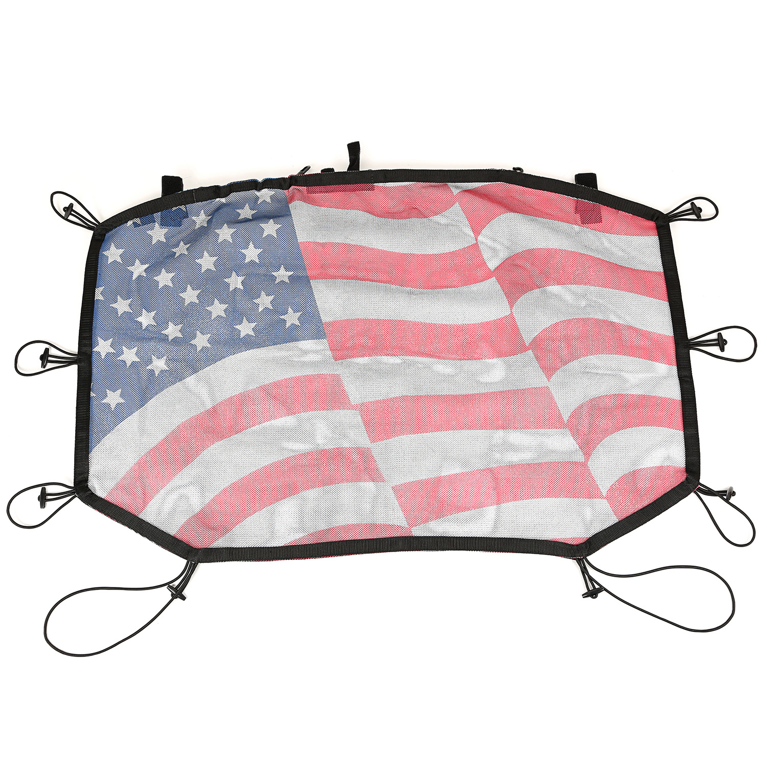 Rugged Ridge Hardtop Sun Shade, Flag - JK