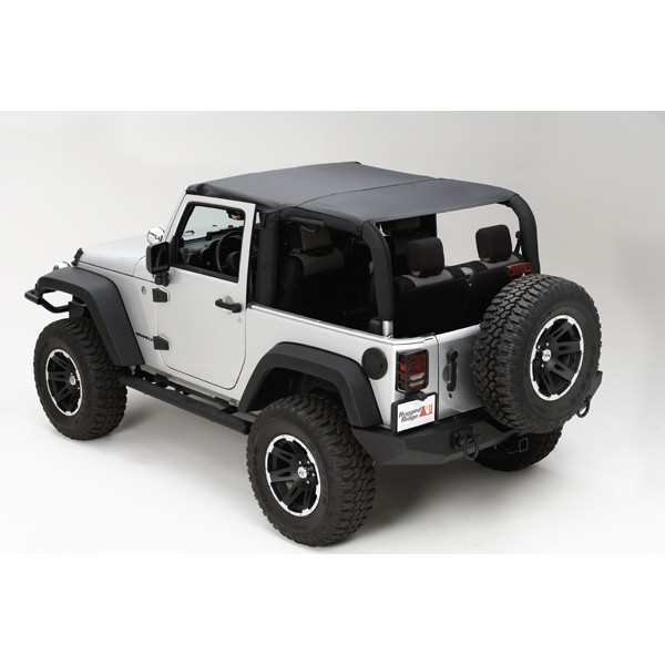 Rugged Ridge Island Topper Black Diamond  - JK 2DR