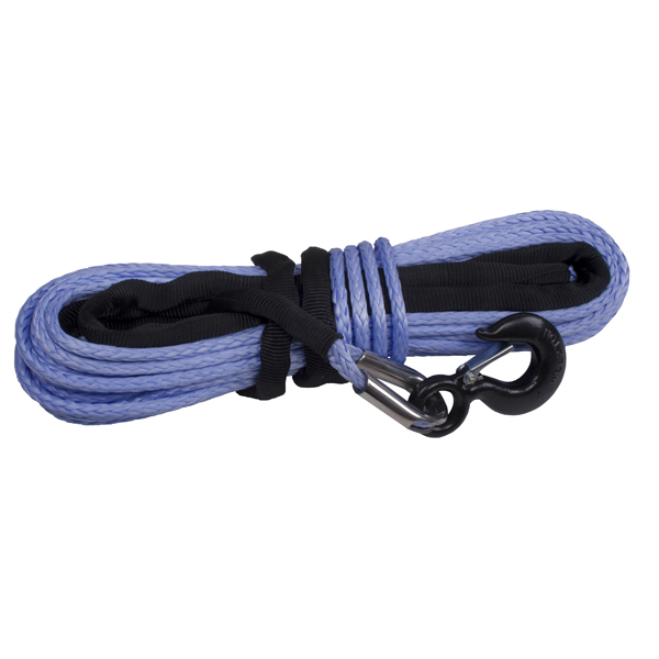 Rugged Ridge 3/8-Inch Synthetic Winch Line Blue