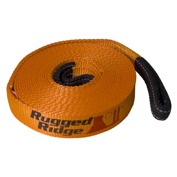 Rugged Ridge 30ft x 4in Recovery Strap