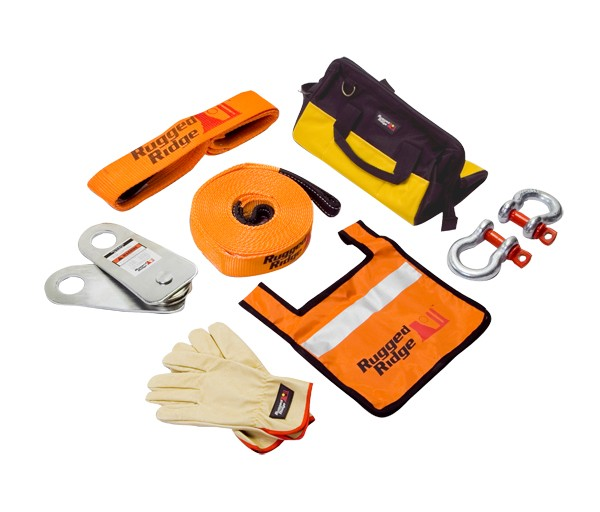 Rugged Ridge HXD 30,000lbs Recovery Gear Kit