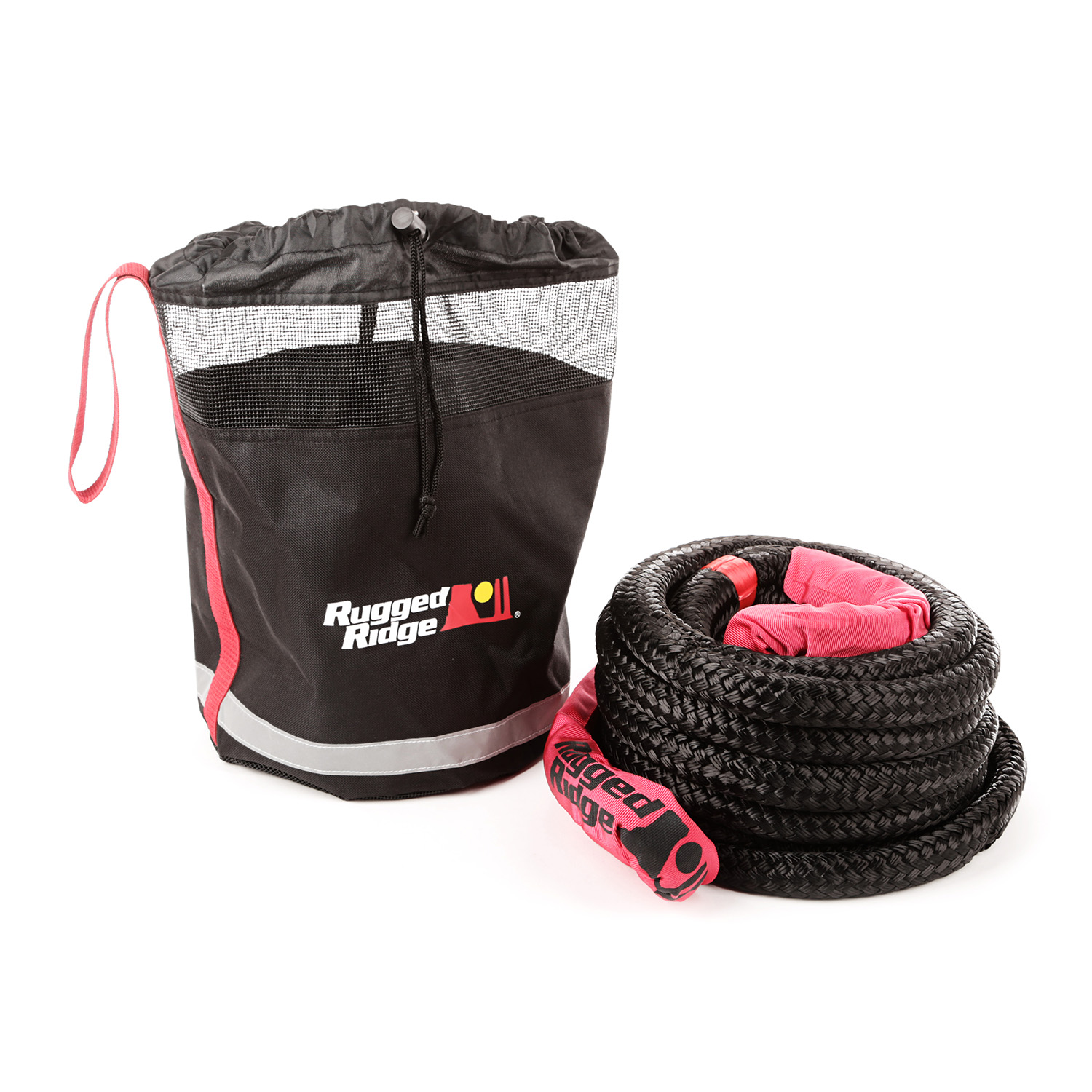 Rugged Ridge Kinetic Recovery Rope with Cinch Storage Bag